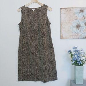 Talbots midi sleeveless dress